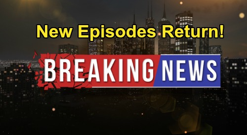 General Hospital Spoilers: New GH Episodes Return August 3 – Official Confirmation From Nathan Varni | Celeb Dirty Laundry