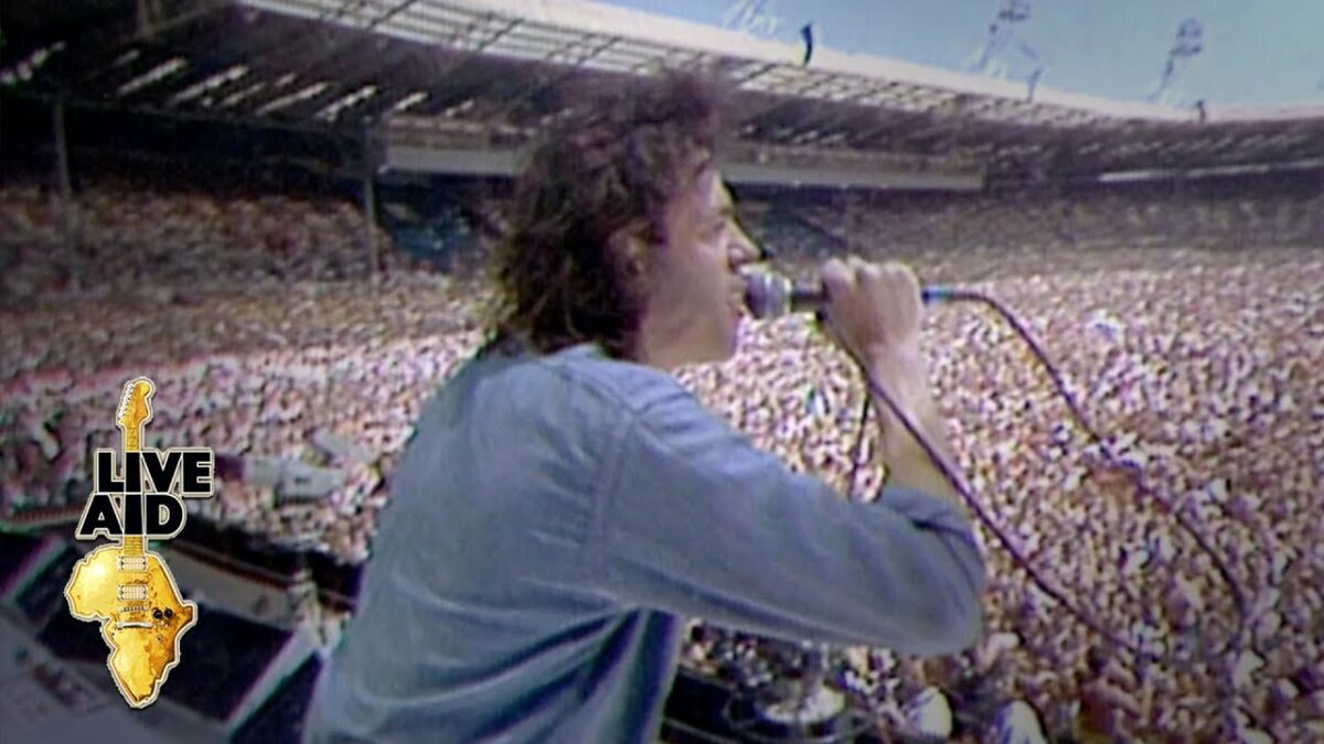 Live Aid was 35 years ago today – A Journal of Musical Things