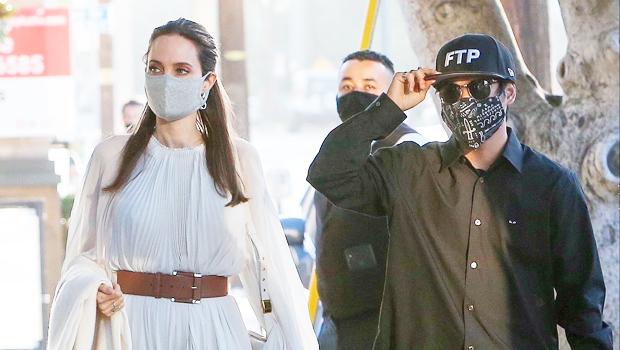 Angelina Jolie & Son Pax Jolie-Pitt Grab Dinner In New Photos – Hollywood Life