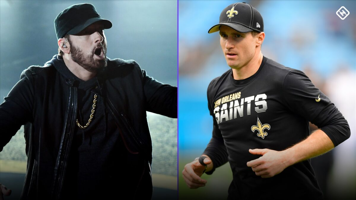 Eminem has harsh words for Drew Brees in new song with Kid Cudi | Sporting News