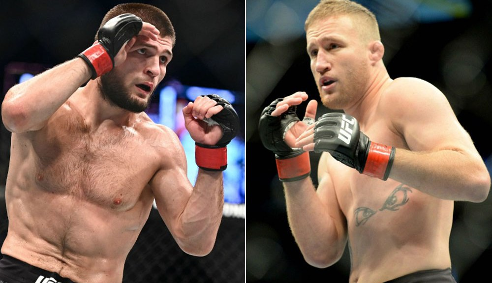 Dana White announces Khabib Nurmagomedov vs. Justin Gaethje for Oct. 24
