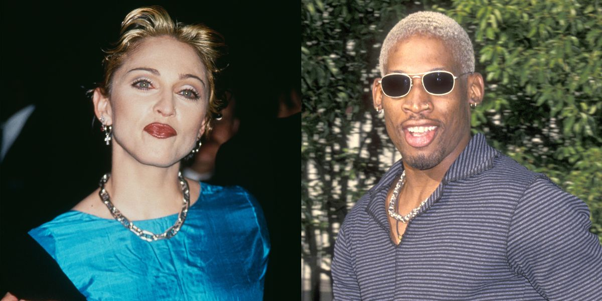 Dennis Rodman and Madonna's Relationship Was a Whirlwind