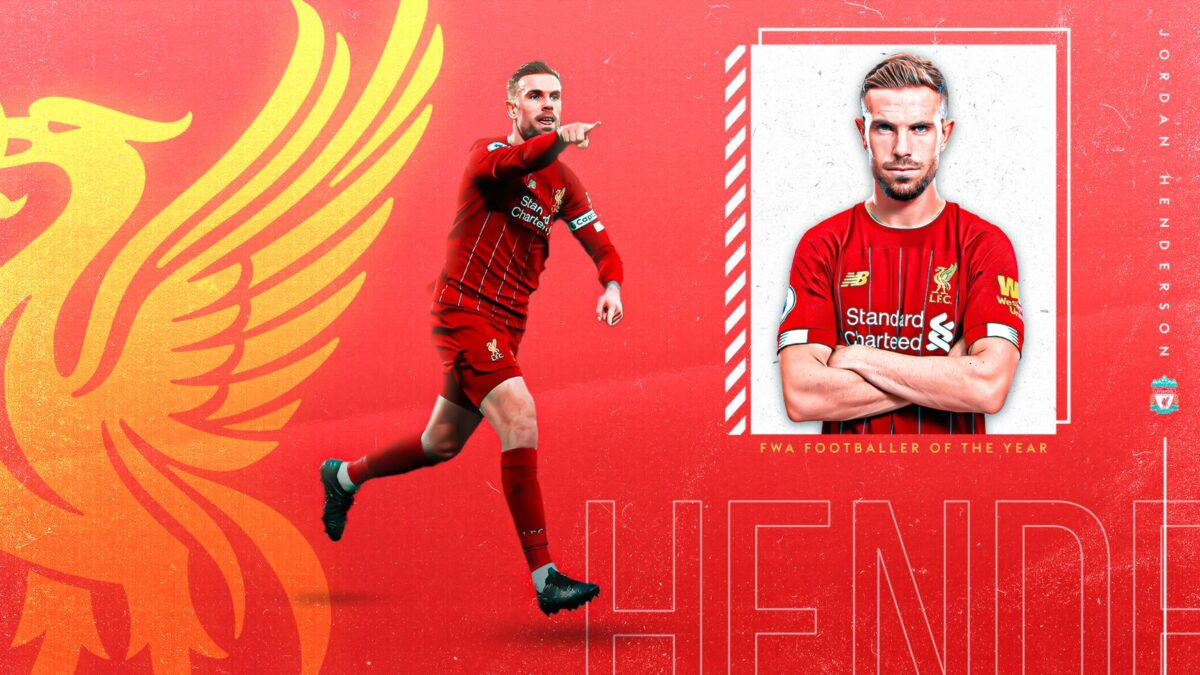Jordan Henderson: Liverpool captain named FWA Footballer of the Year | Football News | Sky Sports