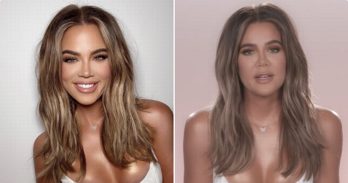 Khloe Kardashian slammed for altering selfie after original look is revealed on Keeping Up With The Kardashians – OK! Magazine