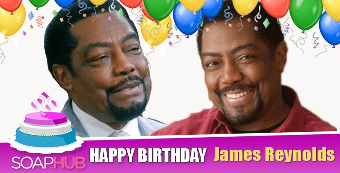Days of Our Lives Veteran James Reynolds Celebrates His Birthday