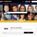 Celebrity Websites