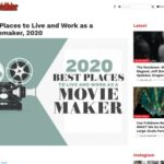 Best Places to Live and Work as a Moviemaker, 2020 (MovieMaker Magazine)
