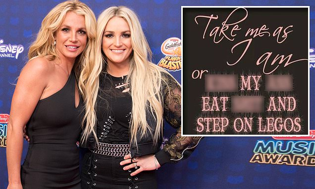 Britney Spears calls out father Jamie Spears and sister Jamie Lynn in expletive-filled post